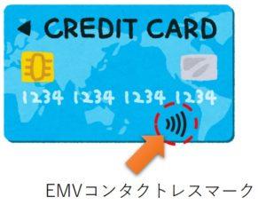 EMVコンタクトレスマーク